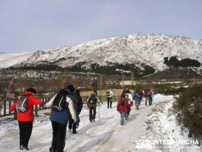Valdemanco _ Buitrago del Lozoya --gente senderista; clubs de montaña madrid